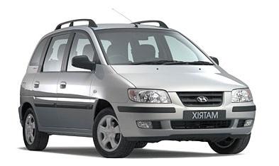 Auto raamfolie voor de Hyundai Matrix