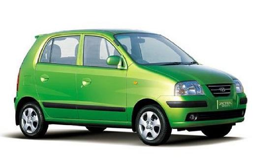 Auto raamfolie voor de Hyundai Atos Prime