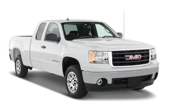 Auto raamfolie voor de GMC Sierra Extended cab