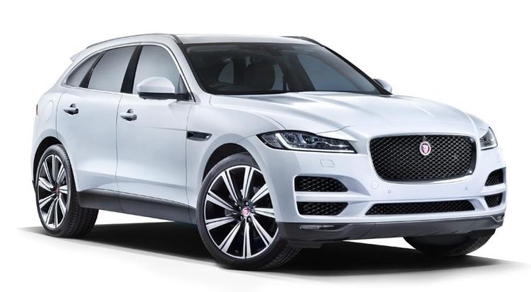 Auto raamfolie voor de Jaguar F-Pace