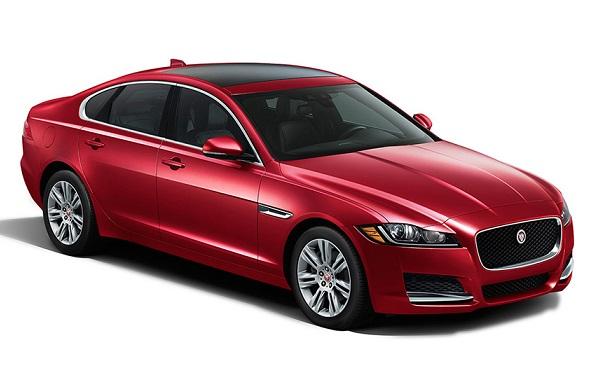 Auto raamfolie voor de Jaguar XF