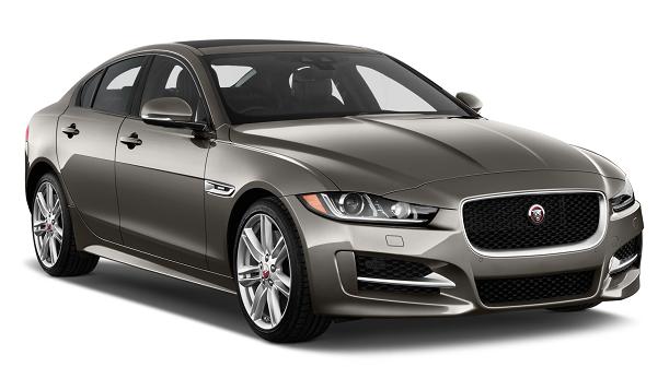 Auto raamfolie voor de Jaguar XE