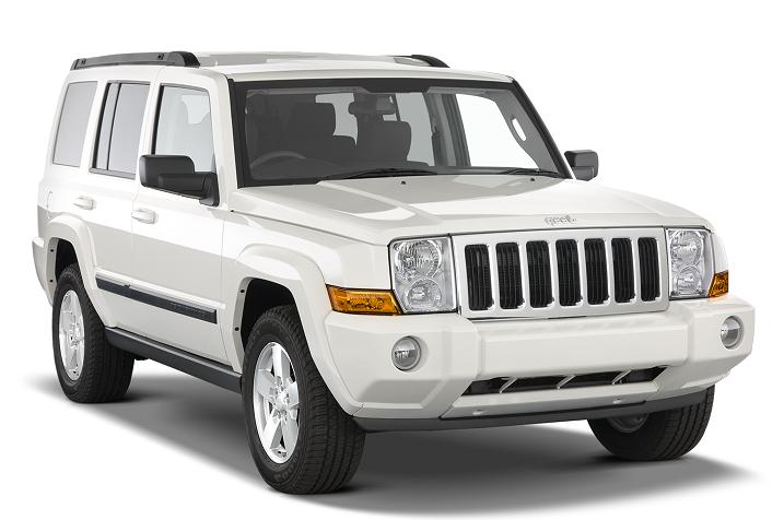 Auto raamfolie voor de Jeep Commander