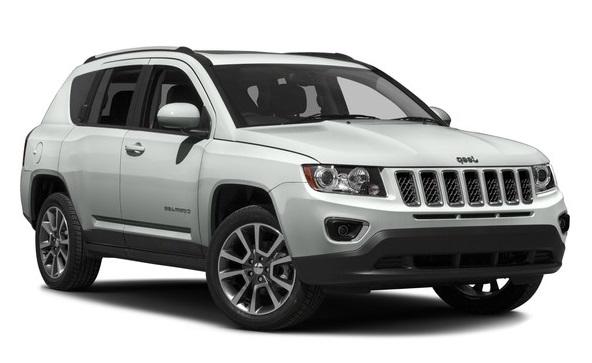 Auto raamfolie voor de Jeep Compass