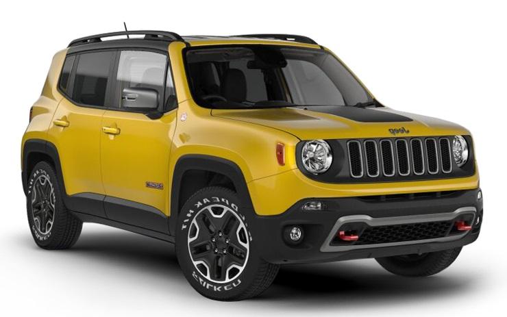 Auto raamfolie voor de Jeep Renegade