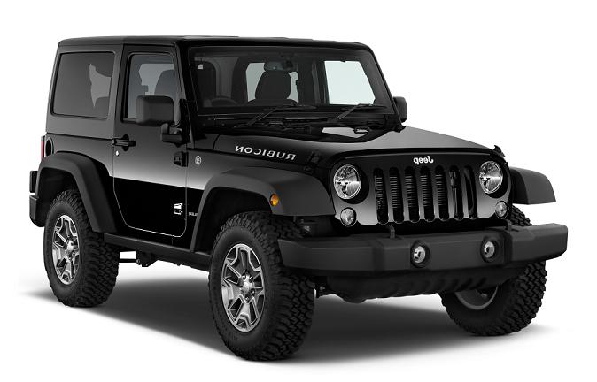 Auto raamfolie voor de Jeep Wrangler