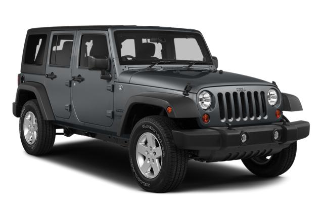 Auto raamfolie voor de Jeep Wrangler Unlimited