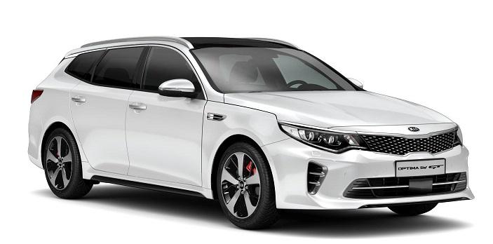 Auto raamfolie voor de Kia Optima Sportswagon