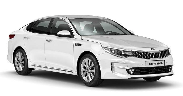 Auto raamfolie voor de Kia Optima sedan
