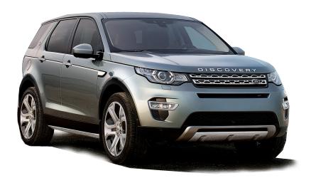 Auto raamfolie voor de Land Rover Discovery Sport