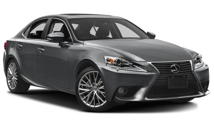 Auto raamfolie voor de Lexus IS