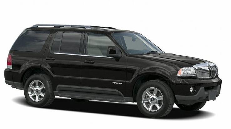 Auto raamfolie voor de Lincoln Aviator