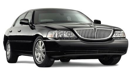 Auto raamfolie voor de Lincoln Town Car