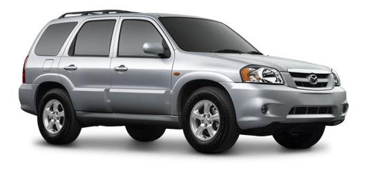 Auto raamfolie voor de Mazda Tribute