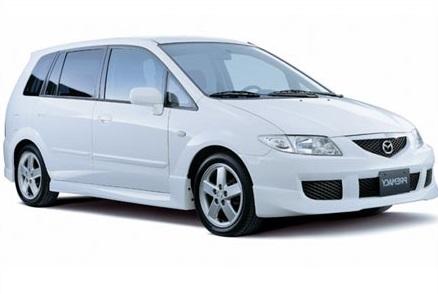 Auto raamfolie voor de Mazda Premacy