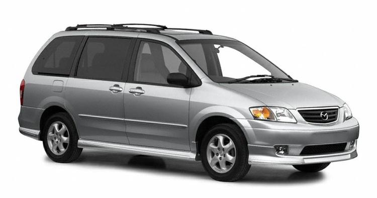 Auto raamfolie voor de Mazda MPV