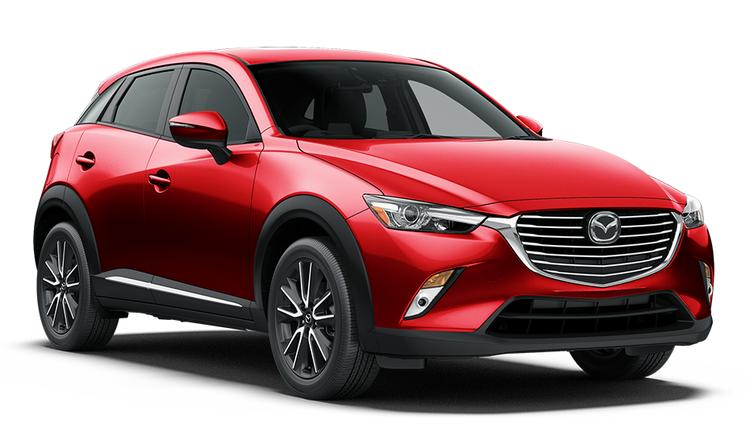 Auto raamfolie voor de Mazda CX-3