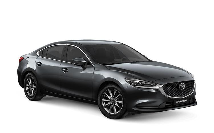 Auto raamfolie voor de Mazda 6 sedan
