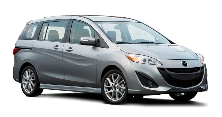 Auto raamfolie voor de Mazda 5