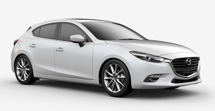 Auto raamfolie voor de Mazda 3 5-deurs
