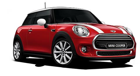 Auto raamfolie voor de Mini Cooper 3-deurs