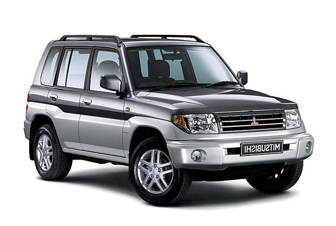 Auto raamfolie voor de Mitsubishi Pajero Pinin