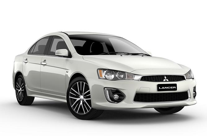 Auto raamfolie voor de Mitsubishi Lancer sedan