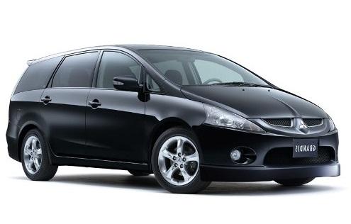 Auto raamfolie voor de Mitsubishi Grandis