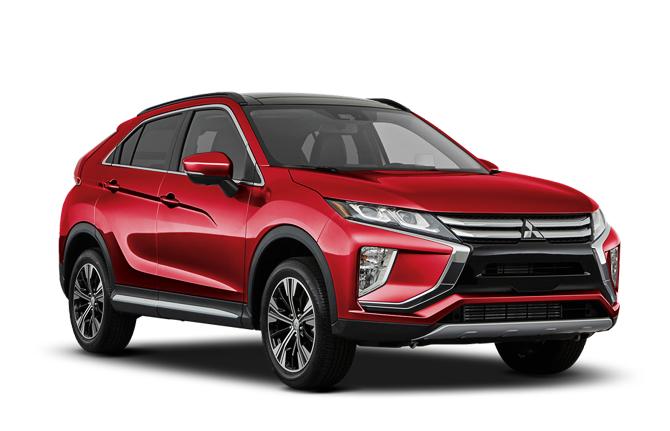 Auto raamfolie voor de Mitsubishi Eclipse Cross
