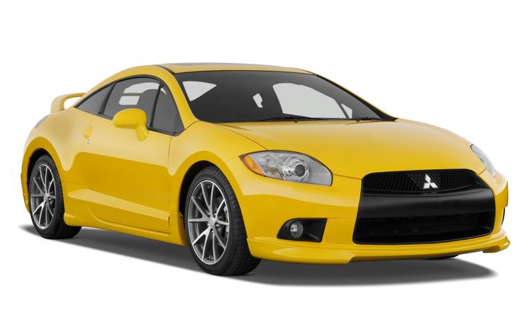 Auto raamfolie voor de Mitsubishi Eclipse