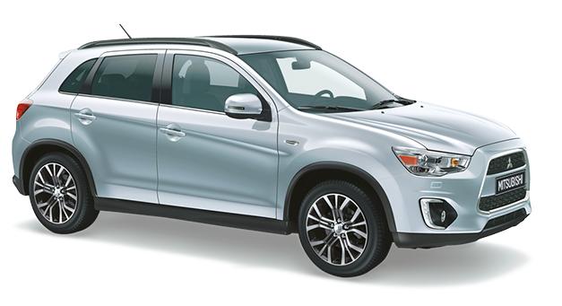 Auto raamfolie voor de Mitsubishi ASX