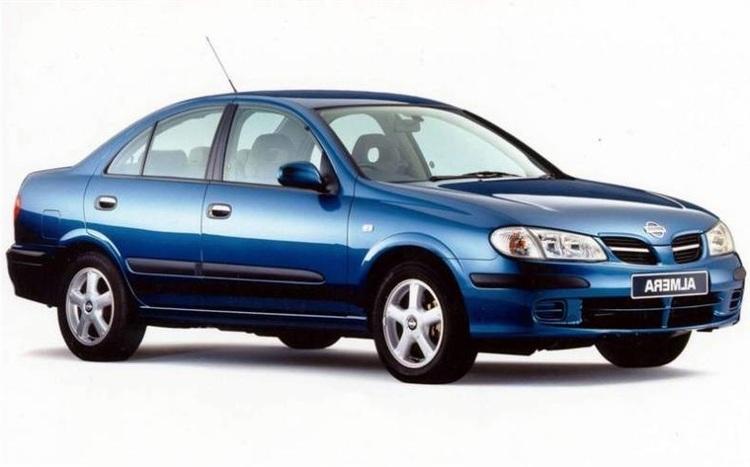 Auto raamfolie voor de Nissan Almera sedan