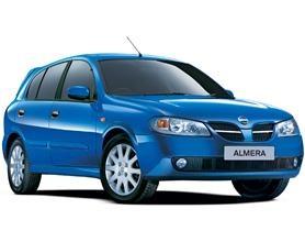 Auto raamfolie voor de Nissan Almera 5-d