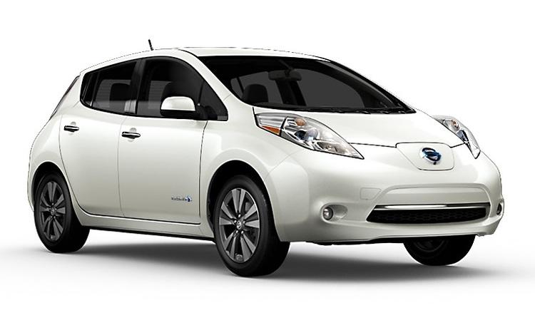 Auto raamfolie voor de Nissan Leaf