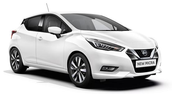 Auto raamfolie voor de Nissan Micra 5-deurs