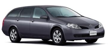Auto raamfolie voor de Nissan Primera combi