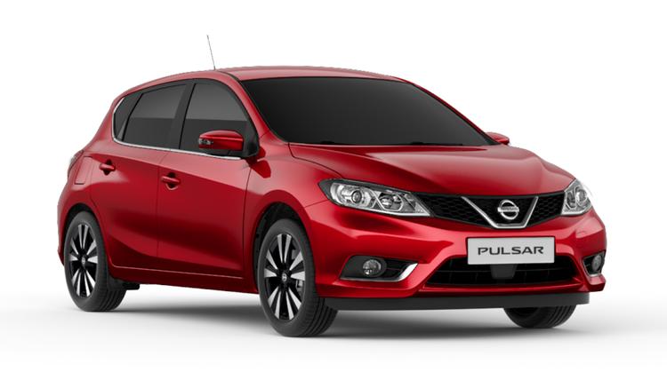 Auto raamfolie voor de Nissan Pulsar