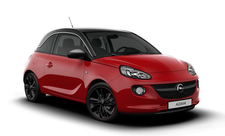 Auto raamfolie voor de Opel Adam