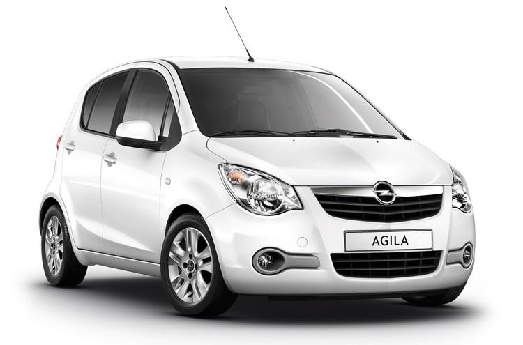 Auto raamfolie voor de Opel Agila