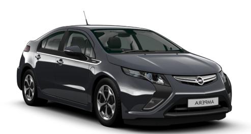 Auto raamfolie voor de Opel Ampera
