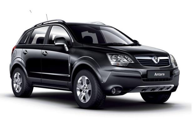 Auto raamfolie voor de Opel Antara