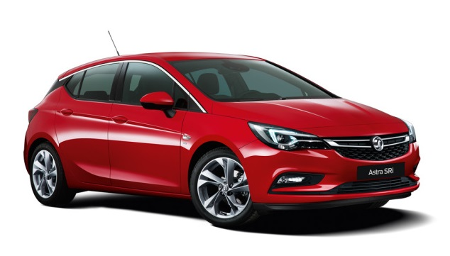 Auto raamfolie voor de Opel Astra 5-deurs