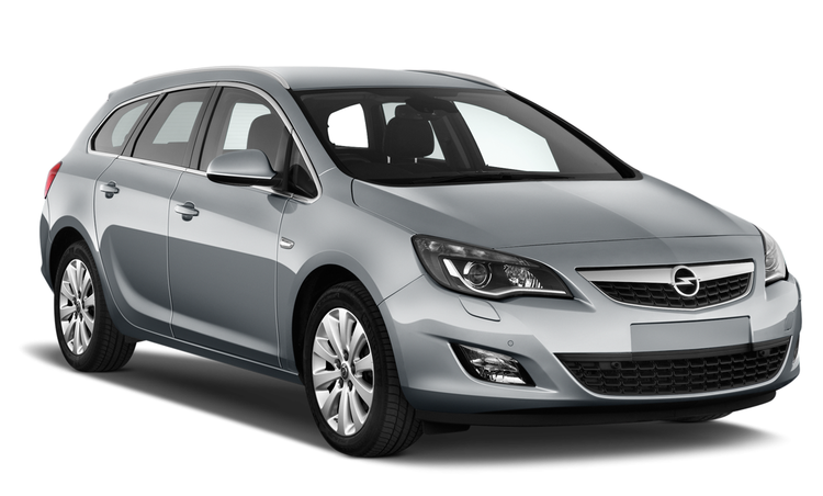 Auto raamfolie voor de Opel Astra Tourer