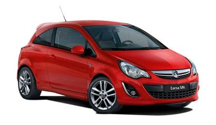 Auto raamfolie voor de Opel Corsa 3-deurs