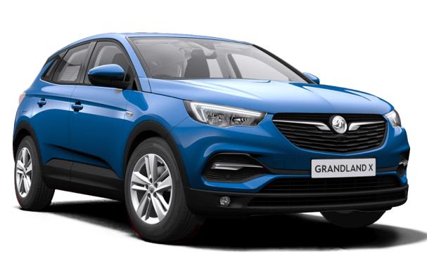 Auto raamfolie voor de Opel Grandland