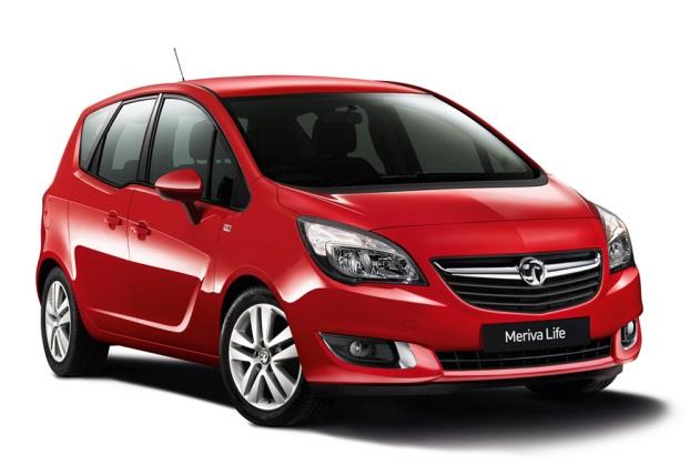 Auto raamfolie voor de Opel Meriva