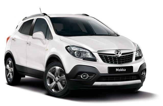 Auto raamfolie voor de Opel Mokka