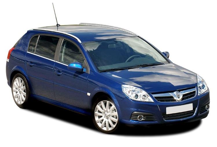 Auto raamfolie voor de Opel Signum