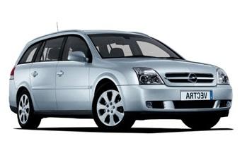 Auto raamfolie voor de Opel Vectra combi