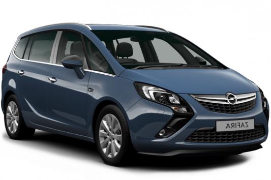 Auto raamfolie voor de Opel Zafira